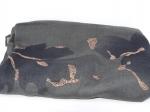 Foulard paillettes, gris