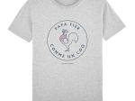 T-shirt Homme - coton bio - Premier Cercle - Papa Fier Comme un Coq