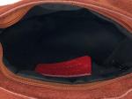 Petit sac à main daim, 14, terracotta