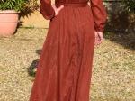 Robe longue scintillante (disponible seulement en S/M)