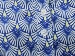 Tunique imprimée 1, bleue
