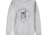 Sweat-shirt Homme - coton bio -Premier Cercle - Piste Rouge