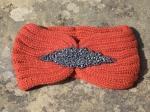 Headband bijoux rouge orangé, adulte ou enfant
