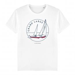 T-shirt Homme - coton bio -Premier Cercle - Grand Large