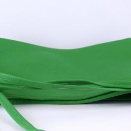 Ceinture à nouer en simili cuir, vert