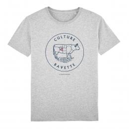 T-shirt Homme - coton bio - Premier Cercle - Culture Bavette
