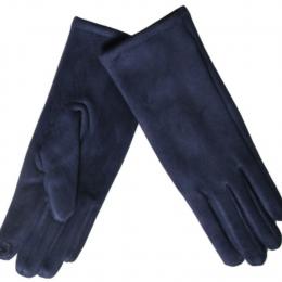 Gants tactiles bleu marine