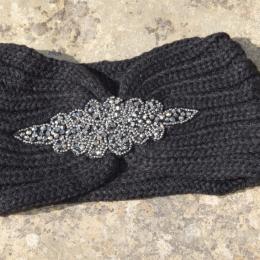 Headband bijoux noir, adulte ou enfant