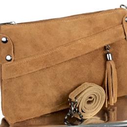 Petit sac à main daim, 8, camel