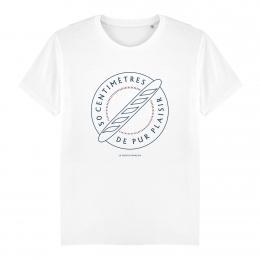 T-shirt Homme - coton bio - Premier Cercle - La Baguette