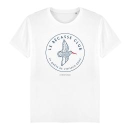 T-shirt Homme - coton bio - Premier Cercle - Le Bécasse Club