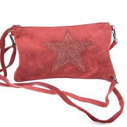 Pochette/sac à main étoile (9 coloris différents)